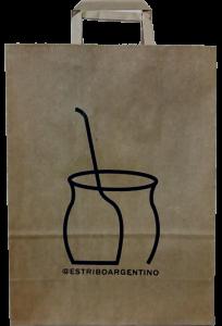 Bolsa de papel personalizada