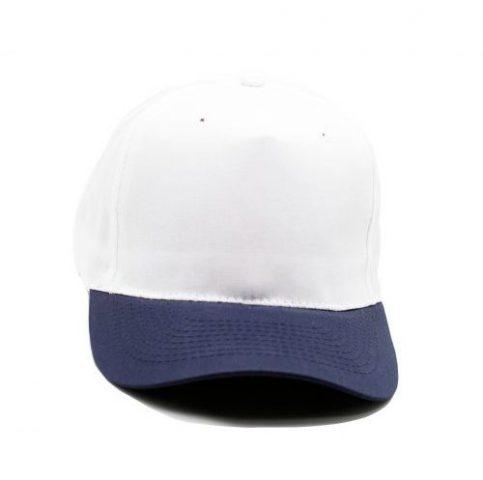 gorro poliester blanco azul